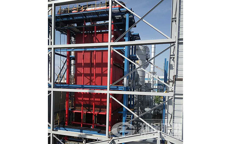 韩国30吨生物质锅炉