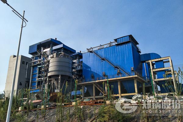 攀钢钛业循环流化床自备电厂锅炉