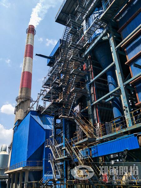 攀钢集团两台90吨流化床电站锅炉