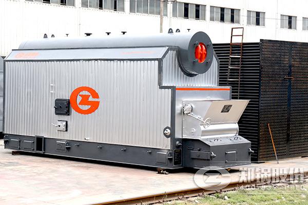 6吨小型燃煤锅炉改烧稻壳