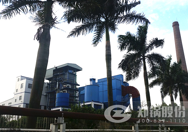 中山华星30吨循环流化床电站锅炉项目