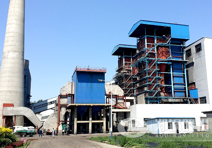 许昌瑞达75吨循环流化床锅炉项目