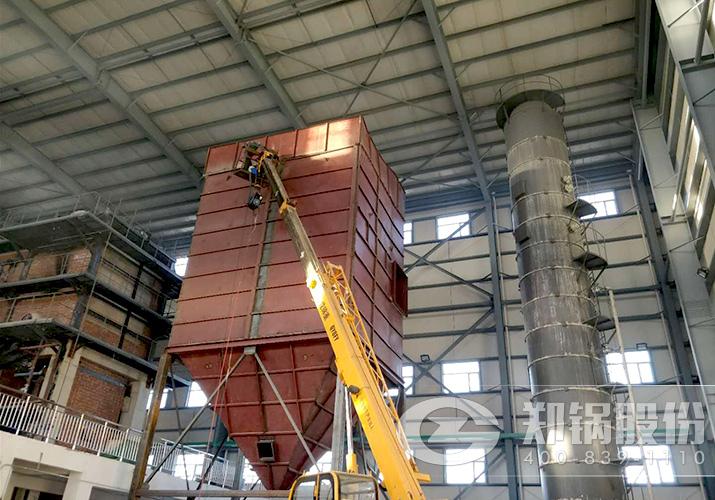 河南开药25吨高效循环流化床锅炉项目