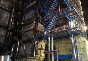 黑龙江佳通60吨循环流化床锅炉项目
