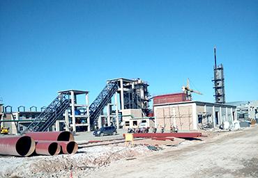 施可丰35吨循环流化床锅炉项目