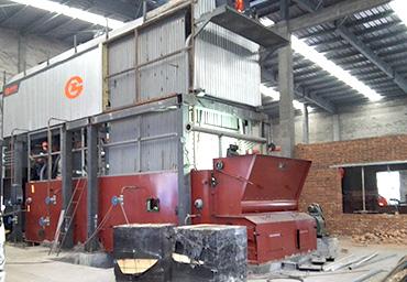 嘉施利20吨环保型链条蒸汽锅炉项目