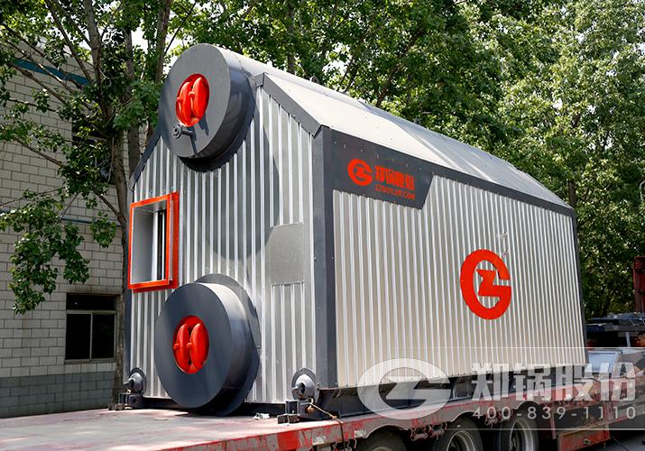慧能利达机电6吨SZL链条蒸汽锅炉项目