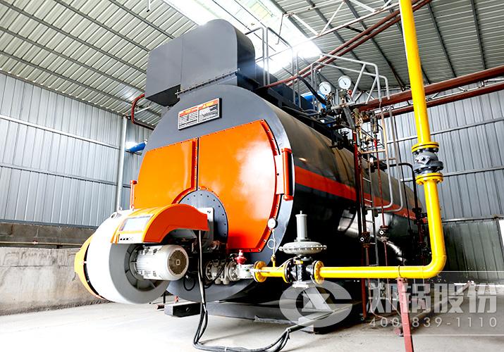 创世元建材8吨燃气锅炉项目