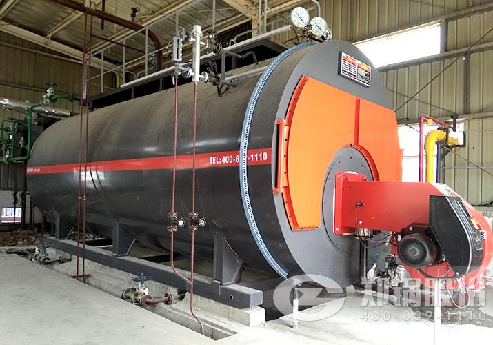 山东食品厂8吨冷凝低氮燃气锅炉项目