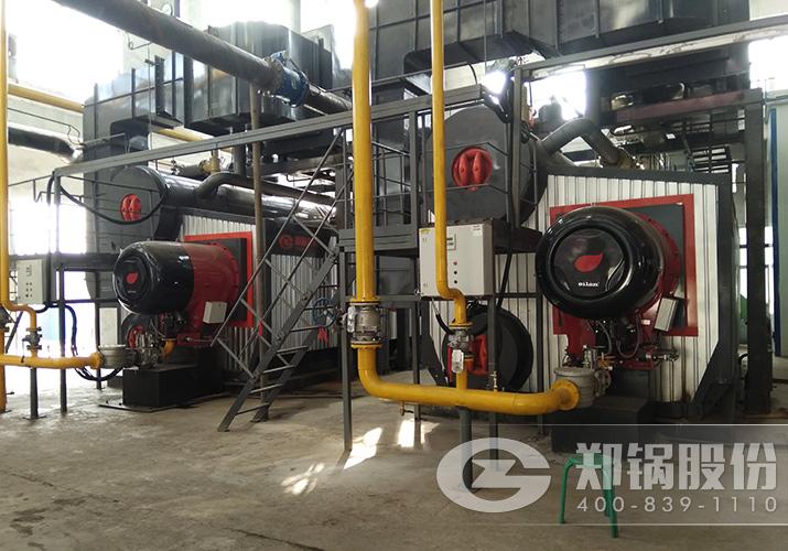晋城东方2台14MW(20吨)SZS燃气热水供热锅炉项目