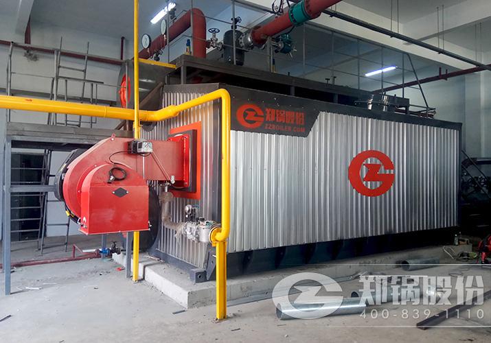 郑州澍青10吨超低氮燃烧燃气锅炉供暖项目