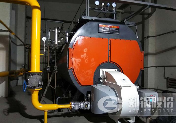 宁夏恒力2台10吨燃气饱和蒸汽锅炉项目