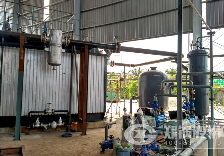 马拉西亚28吨低氮燃烧燃气锅炉项目
