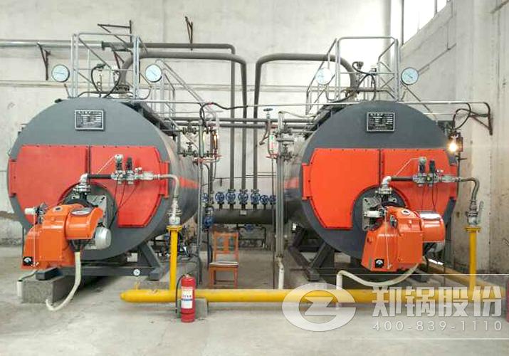 涡阳人民医院2台WNS天然气锅炉项目