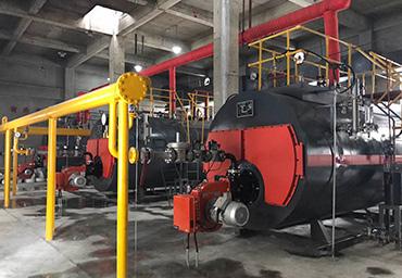 五洲酒店3台燃气蒸汽锅炉项目