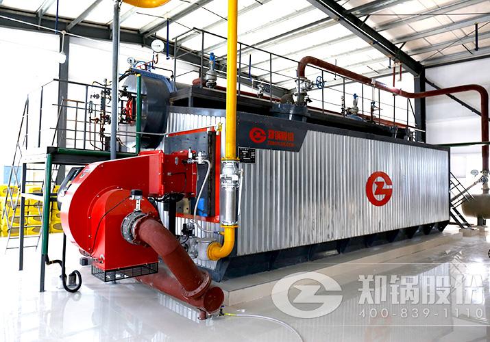 新乡某制药厂2台szs型燃油燃气锅炉项目