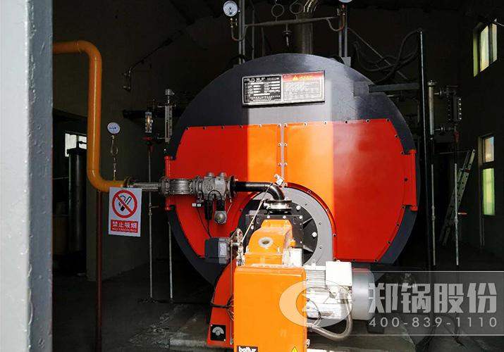 山东博势WNS6吨饱和蒸汽锅炉燃天然气项目