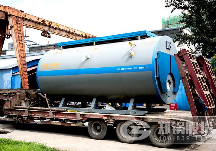 皓海化工6吨WNS燃气蒸汽锅炉项目