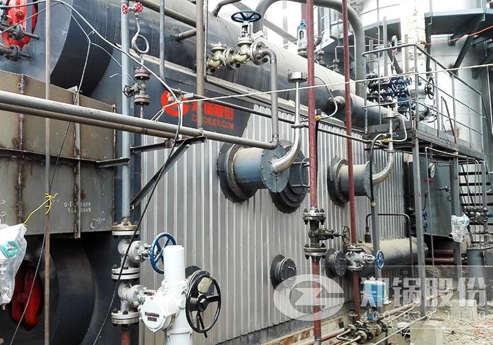 安能24台6吨纯净烟气余热回收利用锅炉项目