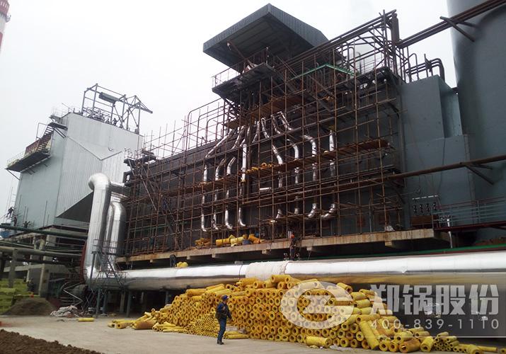安徽金禾75吨三废混燃余热锅炉项目