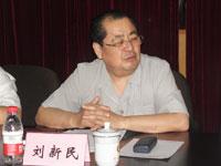 2012年6月份省人大常委会副主任、省总工会主席刘新民一行莅临指导
