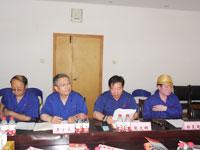 2012年6月份市委组织部领导参观考察