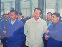 省委常委、郑州市委书记王文超在公司车间调研