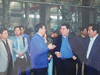 省长李成玉、副省长史济春在公司车间视察工作